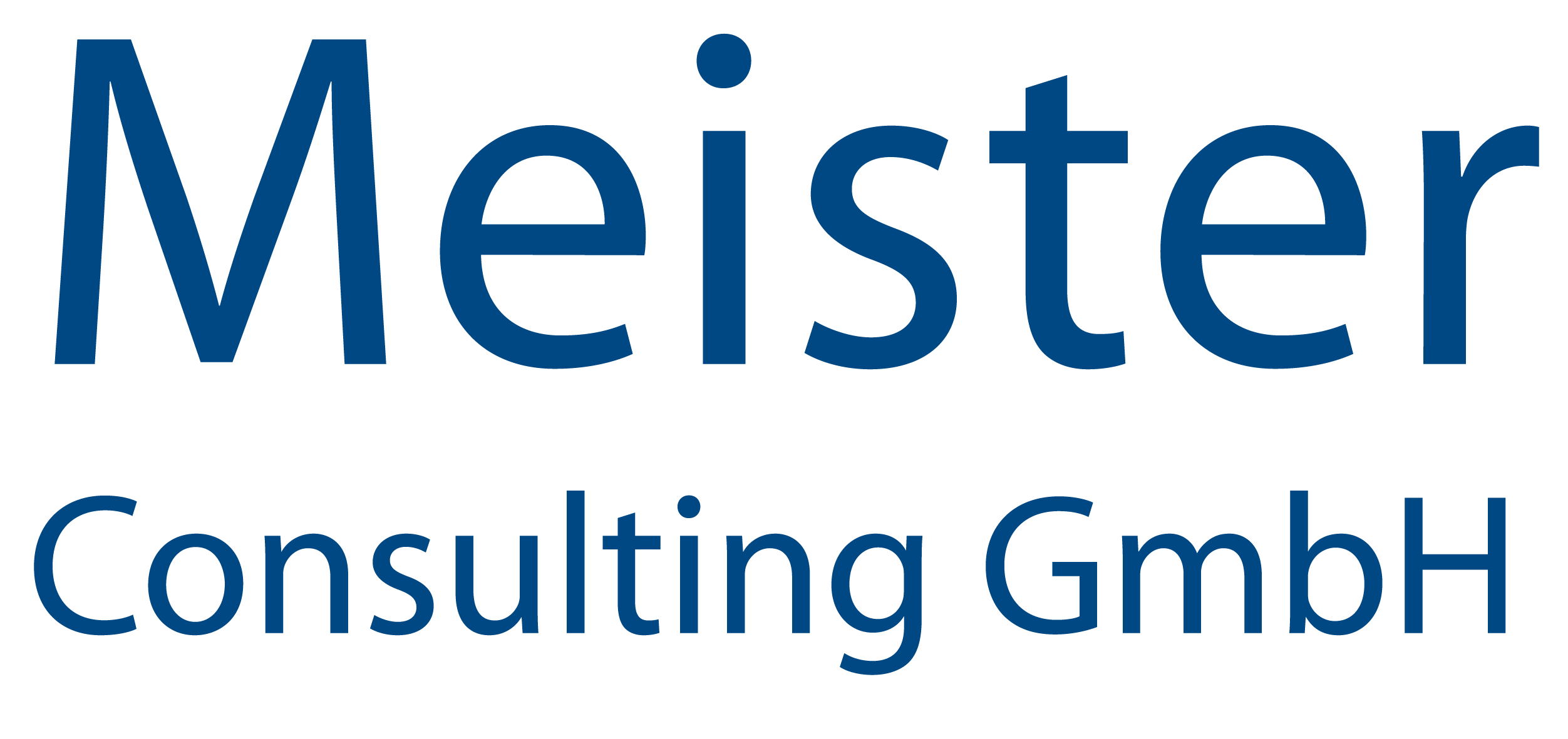 Meister Consulting GmbH